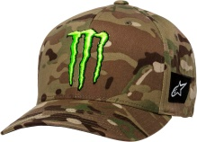 Šiltovka MONSTER MULTICAMO HAT, ALPINESTARS (zelená)